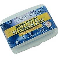 AquaVial Kit de Prueba E. Coli y Coliformes - Kit para Analizar Agua, Paquete de 4