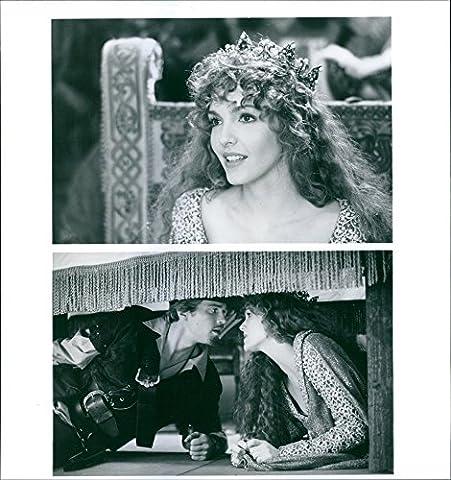 Vintage Photo de Cary Elwes et Amy yasbeck étoiles dans un 1993américain Adventure Comédie Musical,