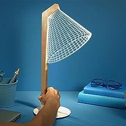 Lámpara 3D de estudio Cheha Deski tipo LED