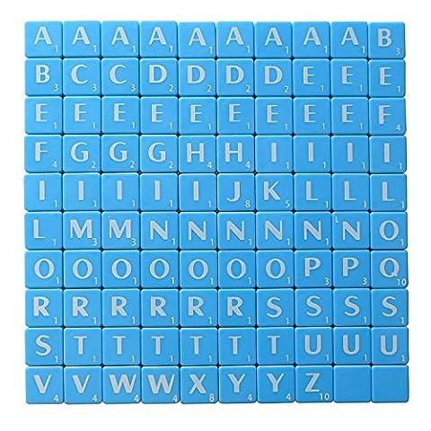 Scrabble Bleu Blanc avec lettres Art & Craft Jeu par Londres patrimoine