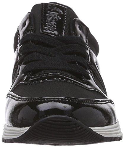 s.Oliver 23607, Baskets Basses femme Noir - Noir
