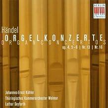 Orgelkonzerte Op.4,5-6/Nr.13/16