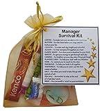 Manager Survival Kit Gift (New job, work gift, Secret santa gift for manager)