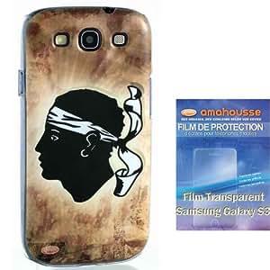 Coque Corse + film Samsung Galaxy S3 en lot