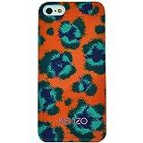 Kenzo KE281566 Coque pour iPhone 6 Motif Leopard Orange