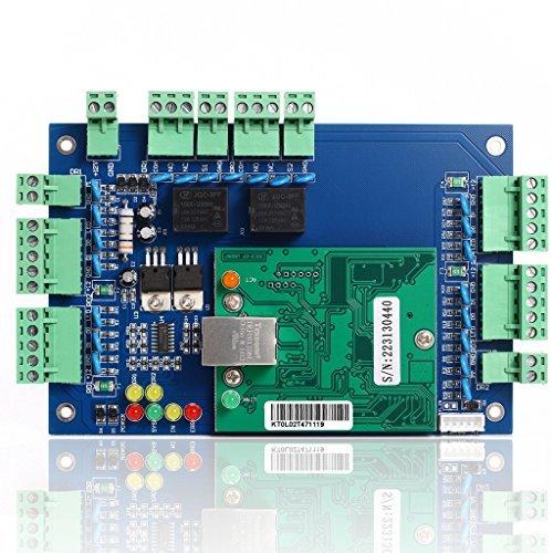 UHPPOTE Professionelle Wiegand TCP IP Netzwerk Zugangskontroll Board Panel Controller für 2 Tür 4 Leser - Access-panel 12x12
