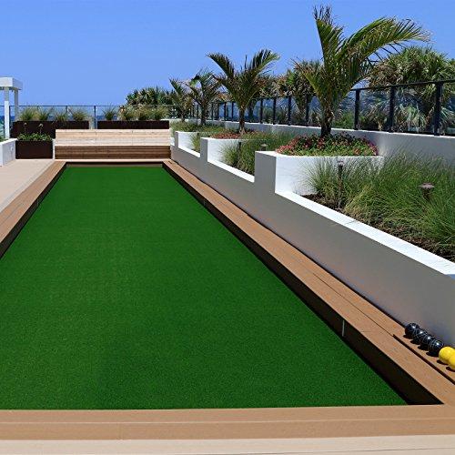 casa pura Erba sintetica Prato sintetico | Per giardino e balcone | Drenante | Interno/esterno | Al metro | 200x100cm | Verde