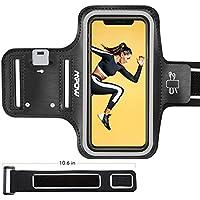 """Mpow Brassard pour Smartphone, Brassard de Sport avec Sangle d'extension/Porte-Cartes/Porte-clés et Porte-écouteurs, 5.8"""" pour iPhone 8/7/6/6s/Galaxy S9/S8/S7/S6/S6edge/P10/P9/P8"""