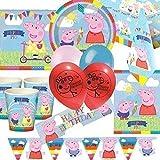 Peppa Pig Deluxe Artículos para fiestas Kit para 16