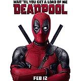 Deadpool Movie (24x33 inch, 60x81 cm) Silk Poster Seda Cartel PJ12-DA81