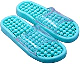 jav Acupuncture Foot Massager Slipper Sandal Foot Reflex Massage Slippers for Women Men (Medium - U.S (7-8),