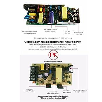 Kefflum Led Trafo. Ac230v Dc-12v Transformator 50w Netzteil Adapter Driver Für Stripe Usw. 7