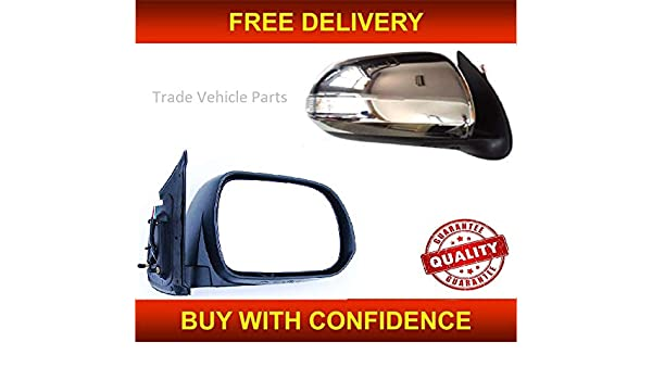 TOYOTA HILUX 2012-2015 DOOR WING MIRROR ELECTRIC POWERFOLD INDICATOR DRIVER SIDE