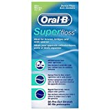 Oral B 50pezzi pre-tagliati super Floss–Confezione da 3