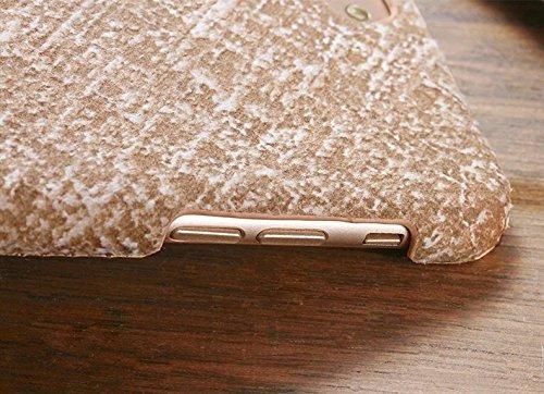EKINHUI Case Cover IPhone 7 Fall-Abdeckung, Leinenbeschaffenheits-Muster-harte schützende Abdeckung für Apple IPhone 7 ( Color : 1 , Size : IPhone 7 ) 7