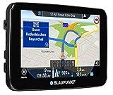 Blaupunkt TravelPilot 52 EU - Navigationssystem 12,7 cm (5 Zoll) Touchscreen-Farbdisplay, Kartenmaterial Gesamteuropa, mit Bluetooth Freisprecheinrichtung, schwarz