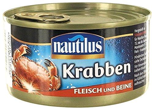 Nautilus – Krabben, Fleisch und Beine – 170g