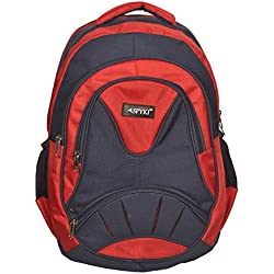 SPYKI Red And Blue Color School Backpack For 4th to 12th Std Boys and Girls Students
