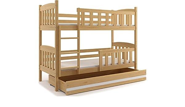 Interbeds Etagenbett : Interbeds etagenbett quba mit lattenroste matratzen und