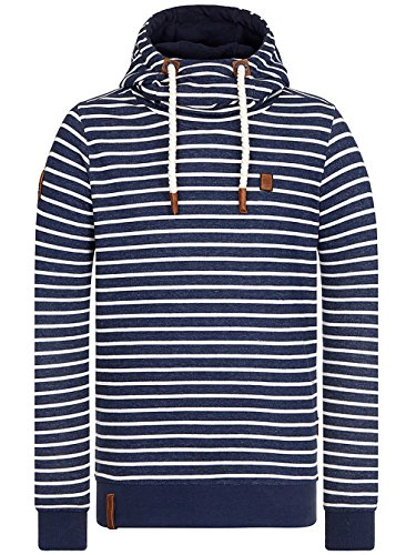Naketano Pedro El Negro Stripe Hype S (Stripe Hooded Pullover)