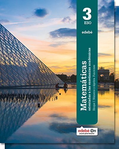 Matemáticas Orientadas a las Enseñanzas Académicas 3 - 9788468320533