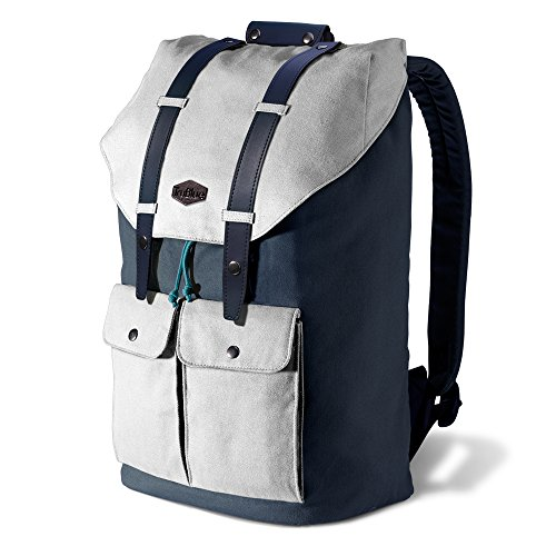 TruBlue The Original+ Zaino (Set Sail) - Design alla Moda. Zaino della Tela. Progettato in (Sail Laptop Bag)