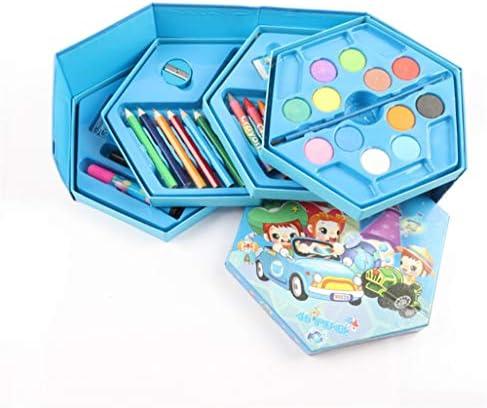 SunnyGod Cadeau pour Les  s s s Pinceau pour  s 46 Pcs Set de Peinture Outil de Peinture pour Aquarelle (Cas de Couleur aléatoire) B07GSYJ92L   Vente  d96199