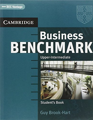 Business Benchmark Upper Intermediate Student's Book BEC Edition by Brook-Hart, Guy (2006) Paperback
