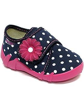Yaro - Zapatillas de estar por casa de algodón para niña