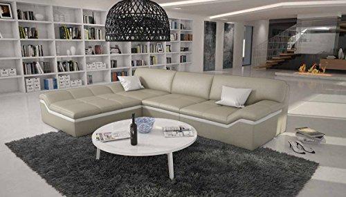SalesFever Eck-Sofa in L-Form 270×220 cm Sarari