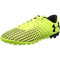 Under Armour UA CF Force 3.0 FG Chaussures de Football Homme Jaune (High-Vis Jaune - 45 EU 7UU6l7Mdx
