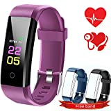 Fitness Trackers-kids Fitness Tracker Watch With Heart Rate Monitor, Activity Trackers With Blood