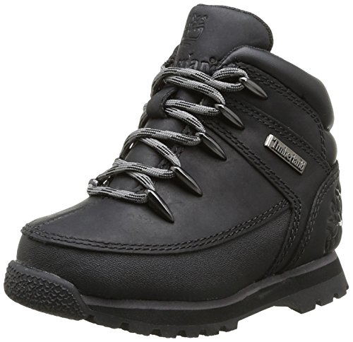Timberland Boys Euro Sprint Boots C9770R Black Smooth/Grey 5.5 UK(39 EU)