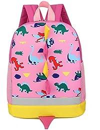 DafenQ 3D Dinosaurio Mochila Infantil Niño Mochilas Escolares Juveniles Dinosaurio Patrón Animales Guardería Mochila viaje bolsos Primaria Bolsa de la escuela