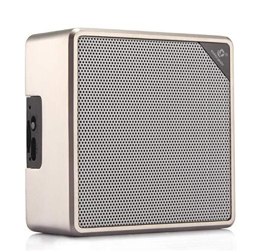 Bluetooth Altavoz inalámbrico teléfono móvil Coche Metal Tarjeta Mini Audio portátil Exterior...