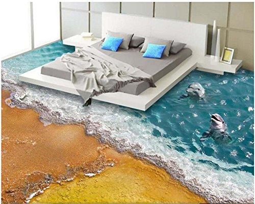 Xcmb Fantasie-Mode-Erstklassige Dekorative Tapete Passend Für Innenschlafzimmer-Badezimmer 3D Bodenbelag Apety-400Cmx280Cm