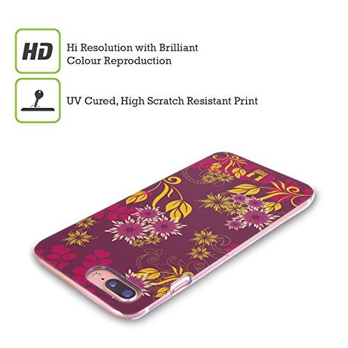 Head Case Designs Oro Grano Ornamenti Botanici Cover Retro Rigida per Apple iPhone X Boysenberry