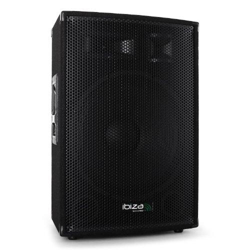 Preisvergleich Produktbild Ibiza 38cm (15 Zoll) PA Konzert Party Box Lautsprecher DJ 1000W