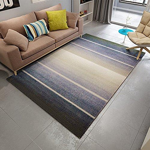 Bws_ tappeto vintage tradizionale naturale semplice moderno rettangolare classico tappeto europeo per camera da letto, salotto, studi, ristoranti, ecc,120 * 160cm