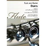 Seis Duette para flauta (Flauta) y guitarra/Six Duets For Flute (Recorder) and Guitar/Six Duos pour Flûte à BEC ou traversière avec Guitar (Partitura y voz)