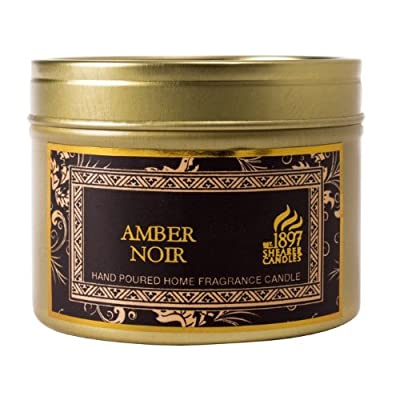 Shearer Scented Candle In Tin - Amber Noir Black- 6cmx47cm from shearer