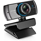 LOGITUBO Webcam HD 1080P Live Streaming Camera with Microphones Supports Xbox One Facebook Skype