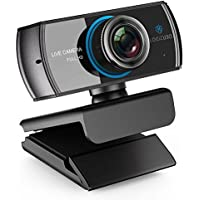LOGITUBO HD Webcam 1080P/1536P Cámara de transmisión en vivo con micrófonos duales Web Cam funciona con XBox One/PC/ Macbook/TV Box Compatible con OBS/Facebook/YouTube