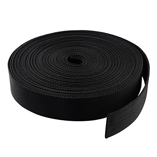 51gLVHYUOkL. SS500  - ASIV 10m x 25mm Nylon Heavy Webbing Strap for DIY Craft Backpack Strapping Apron Bunting