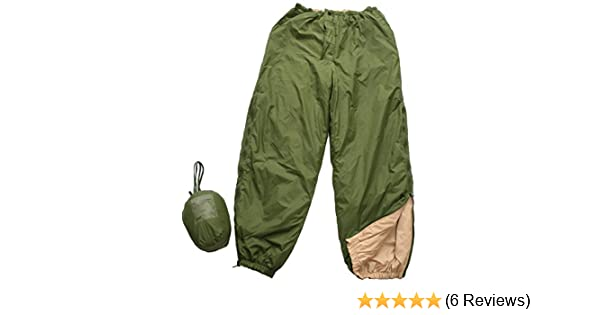 Outdoor BIVVY REVERSIBLE Thermal Trousers+Bag Water Resistant #66308