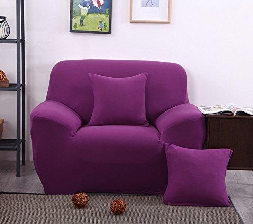 lililili All-inclusive-kombination Sofabezug, Volltonfarbe Anti-rutsch Einfach tinte wind Sofabezug...