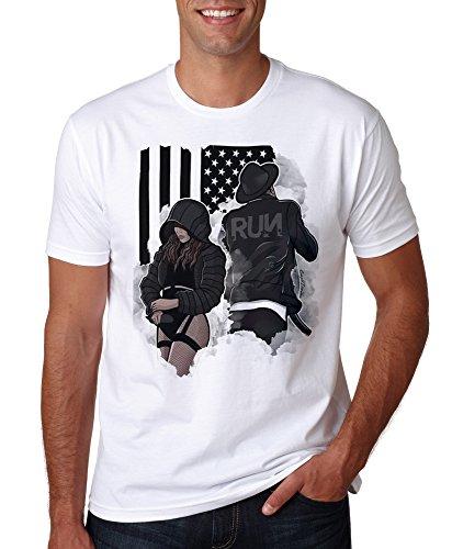LuckyTshirt Jay Z Shirt T Tee Beyonce Kanye West Yeezus Top Gift Dope Tshirt Slay Lemonade Hip Hop - S