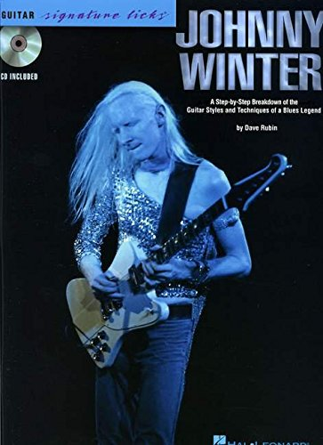 Johnny Winter Guitare +CD (Book & CD)