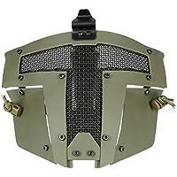 FAST AF Helm Zubehör - Coole Paintball Full Face Stahl Mesh schützende Sparta taktische Maske