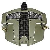 FAST AF Casque Accessoires - Cool Paintball Masque Intégral Masque Protecteur Sparta Tactique pour Hommes